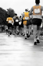 Finish a 20km run with moderate workouts - 2 sessions per week over 8 weeks.